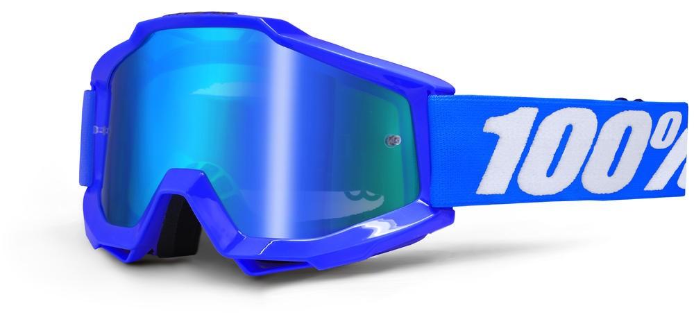 Goggles 100% Acc Bl Mirror/Blue