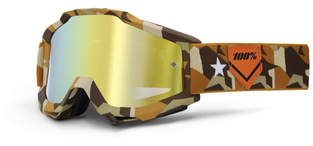 Goggles 100% Acc Cam Mirror/Gold