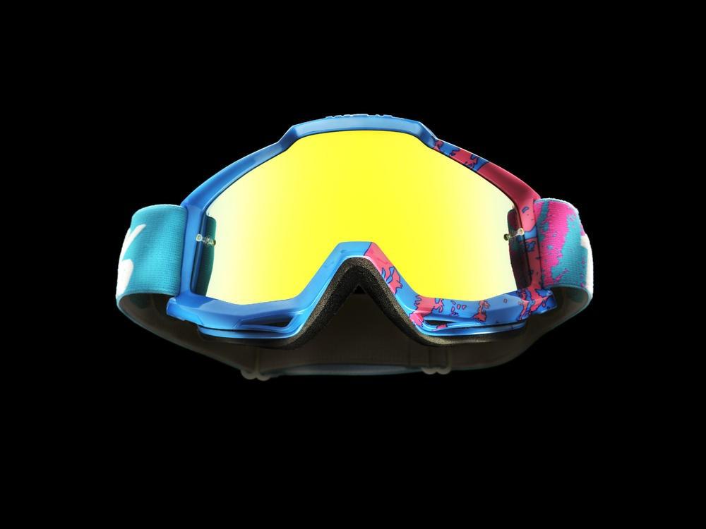 Goggles 100% Acc 90'S Mirror Gold