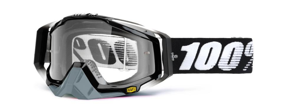 Goggles 100% Rc Abyss Bk Mirror Si