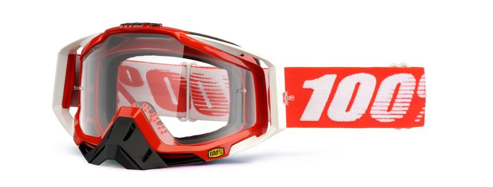 Goggles 100% Rc Fire Red Mirror Rd