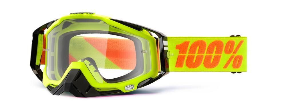 Goggles 100% Rc Neon Yl Mirror Rd