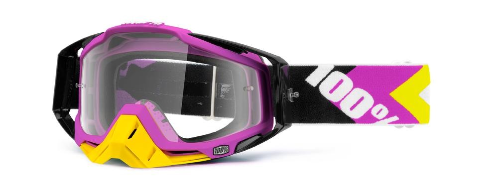 Goggles 100% Rc Bk/Pk Mirror Gd