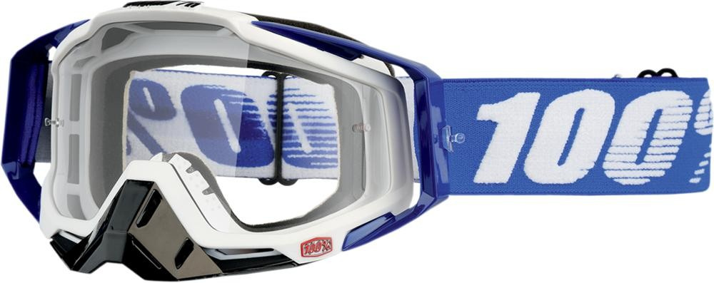Goggles 100% Rc Cobalt Bl Clear