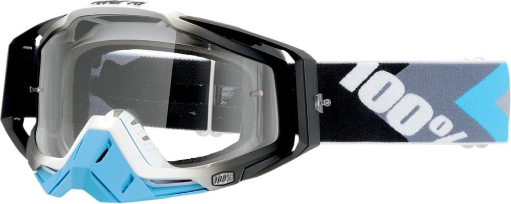 Goggles 100% Rc Hypr Bl/Gun Clear