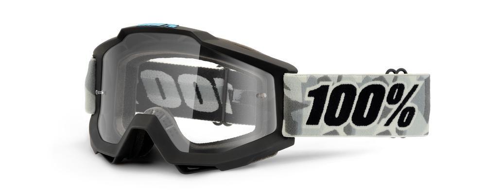 Goggles 100% Acc Alpine Clear