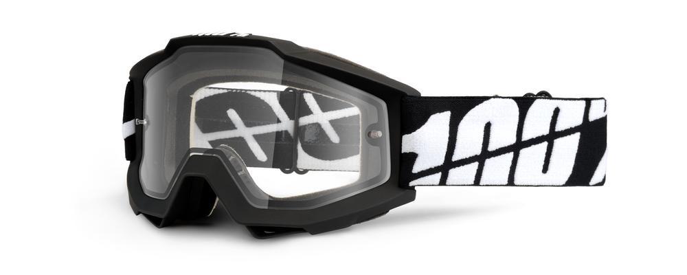 Goggles 100% Acc Enduro Dual Clear