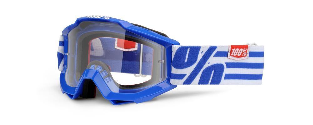 Goggles 100% Yth Nimitz Clear