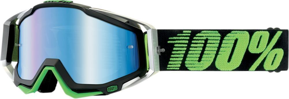 Goggles 100% Rc Bk/Cr/Gn Mirror Blue