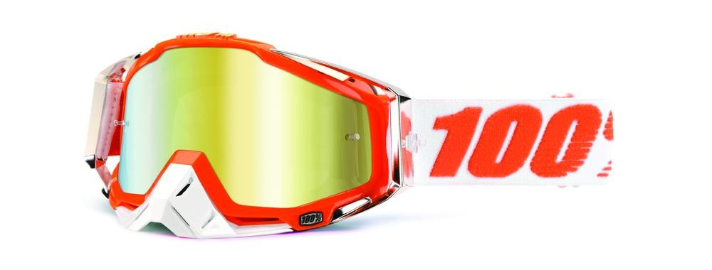 Goggles 100% Rc Clem Mand2 Mir Gold