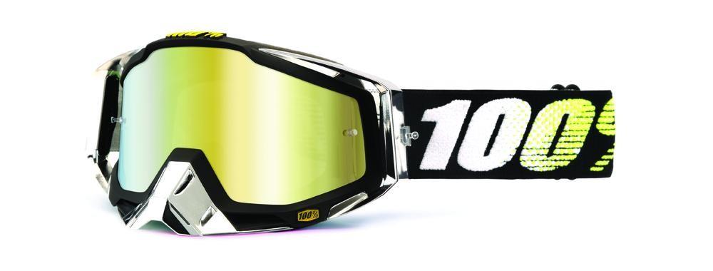 Goggles 100% Racecraf T2 Mirror Gold