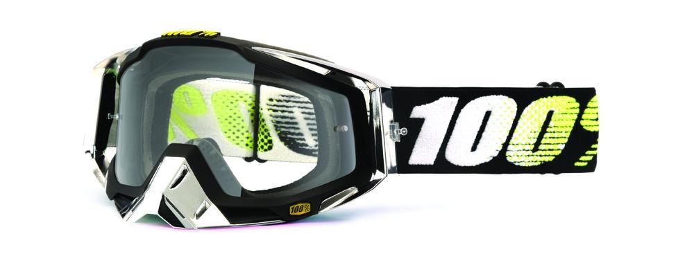 Goggles 100% Racecraft T2 Clear