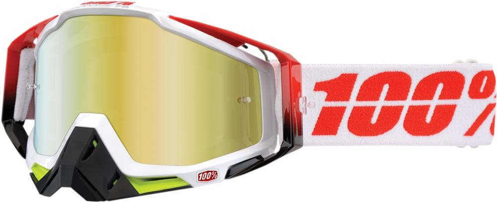 Goggles 100% Rc Flush Mir Gld