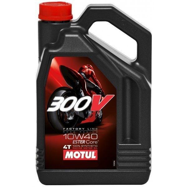 100% synthetic oil MOTUL 300V Factory Line 10W-40 4L
