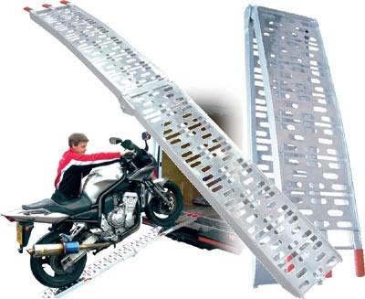 Motociklo pakrovimo rampa (trapas)