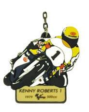 """Keychain """"MotoGp Legends"""" - KENNY ROBERTS#1"""