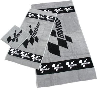 Towels set (gray, 3pcs)