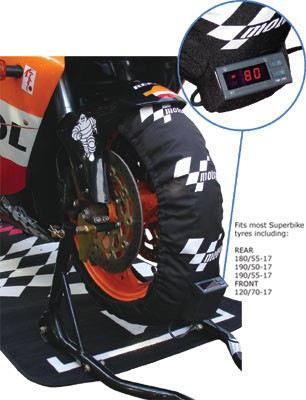 Digital tyre warmers