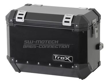TraX šoninė 45 l talpos dėžė, juoda