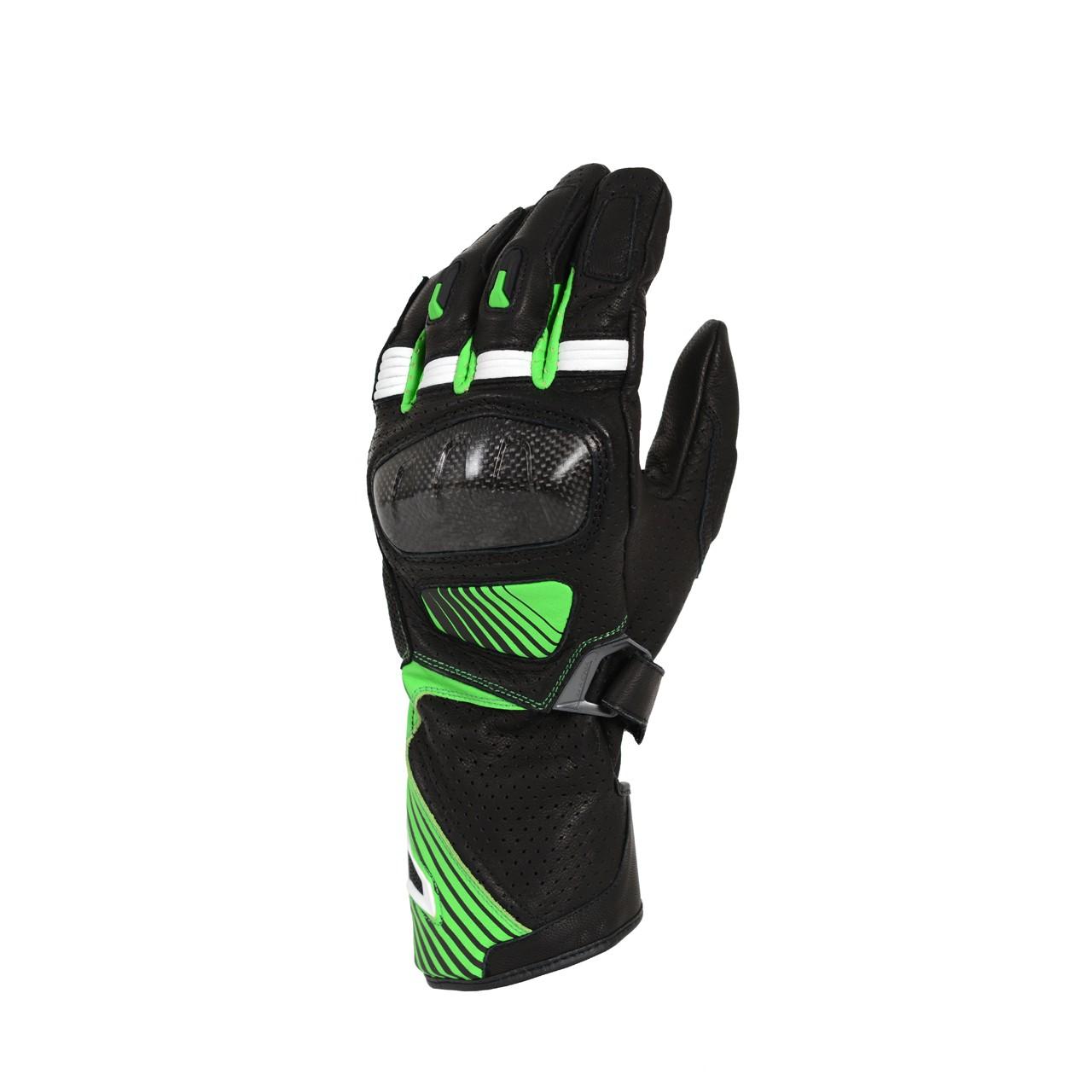 Pirštinės MACNA Airpack (Black/Green)