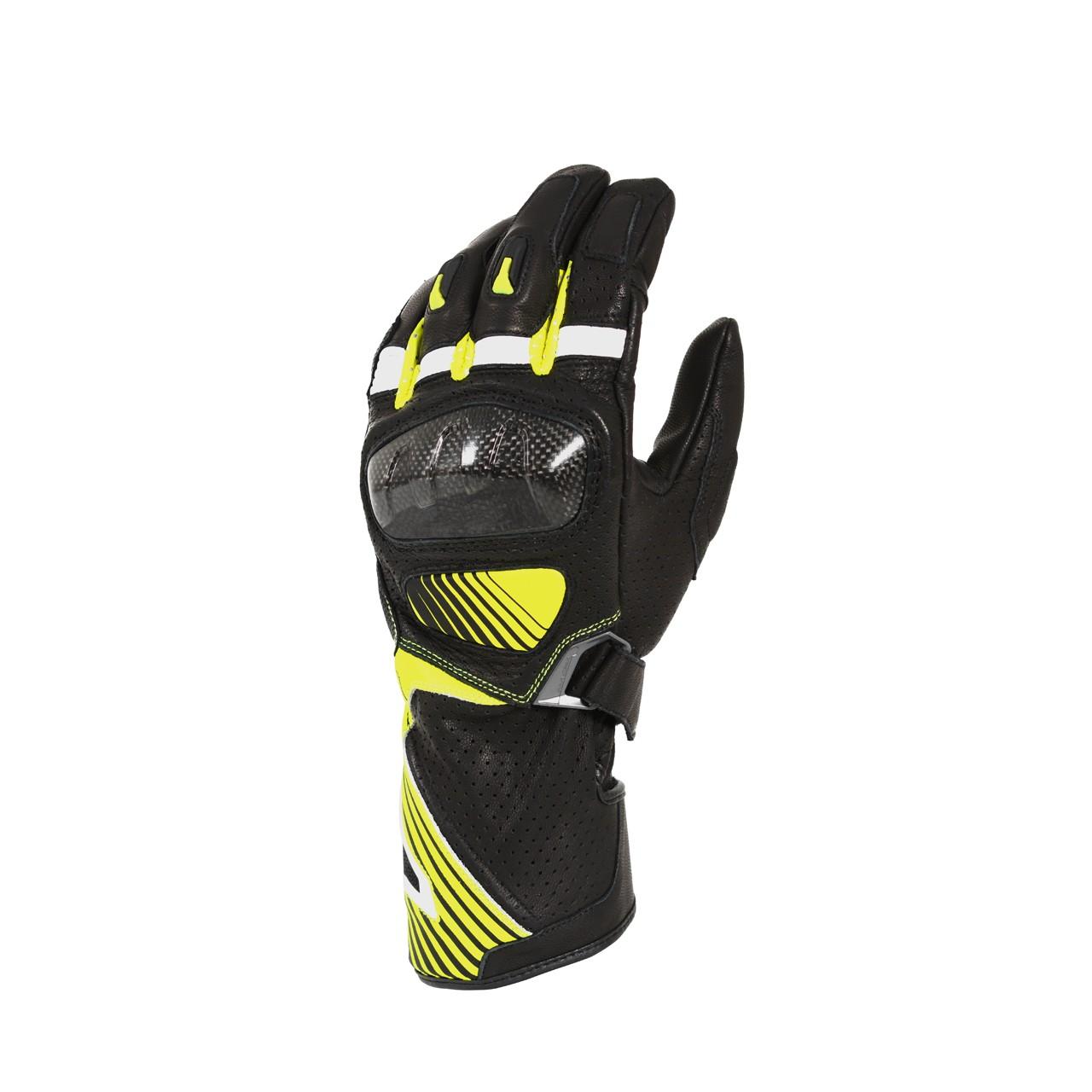 Pirštinės MACNA Airpack (Black/Fluo yellow)