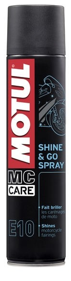 MOTUL Shine & Go Silicone Based Shine and Protect Clear Coat Aerosol Spray 400ml