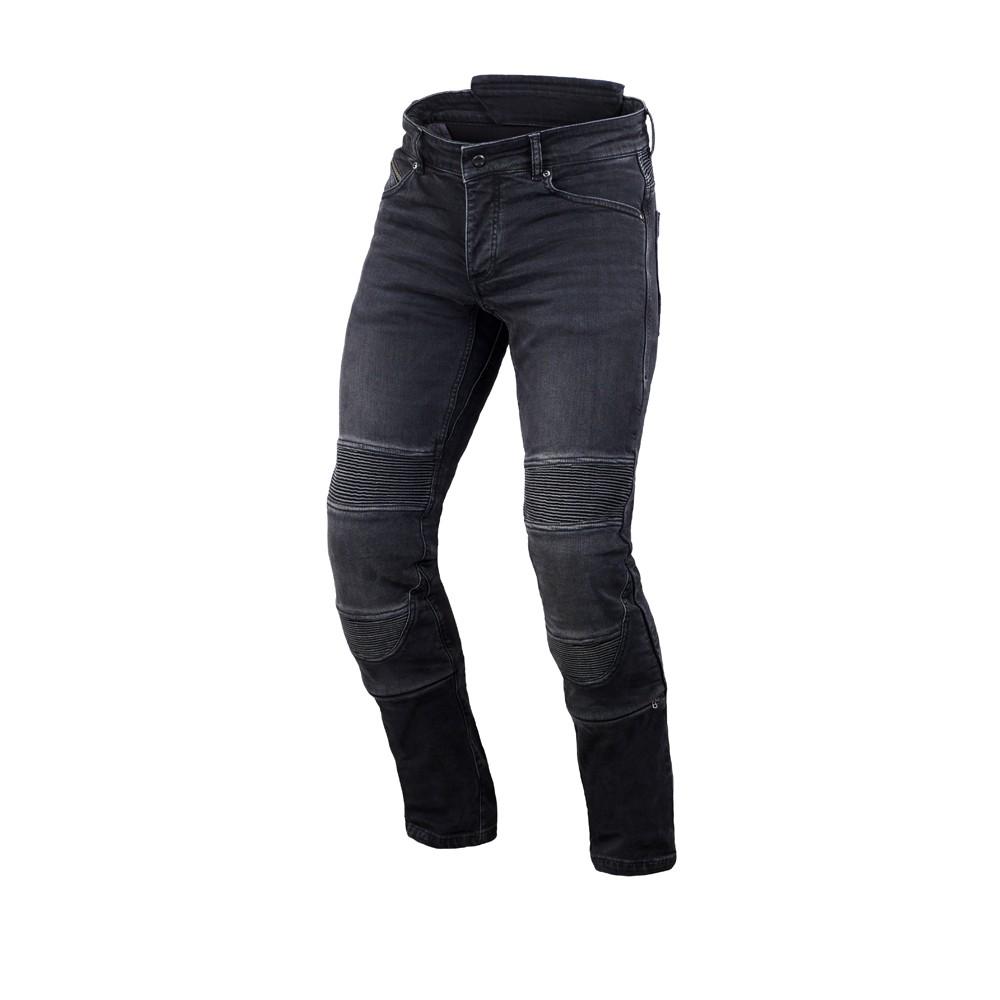 Tekstilinės vasarinės kelnės MACNA Individi (Black)