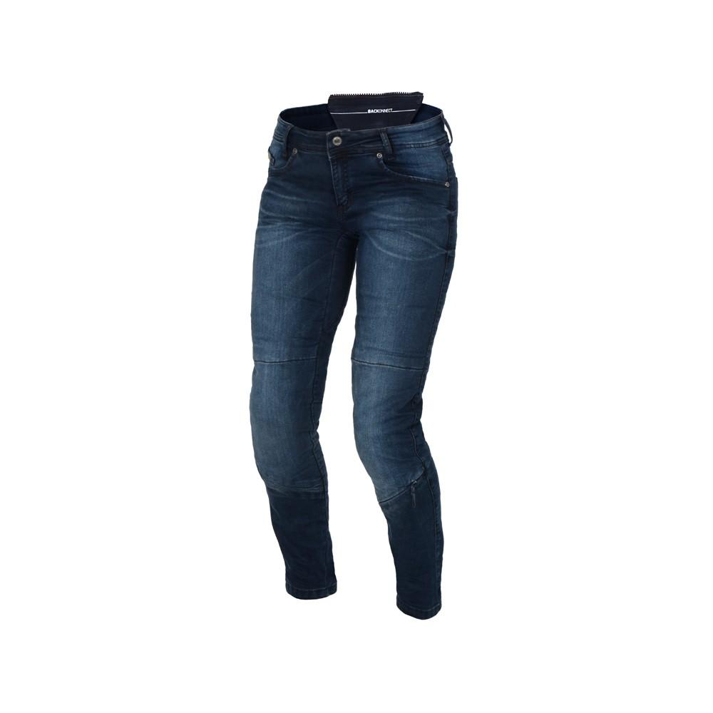 Tekstilinės vasarinės kelnės MACNA Jenny (Ladies) (Blue)