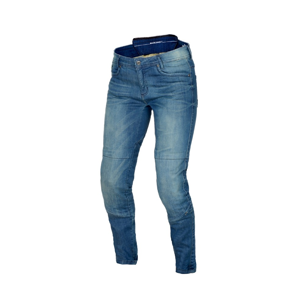 Tekstilinės vasarinės kelnės MACNA Jenny (Ladies) (Mid Blue)