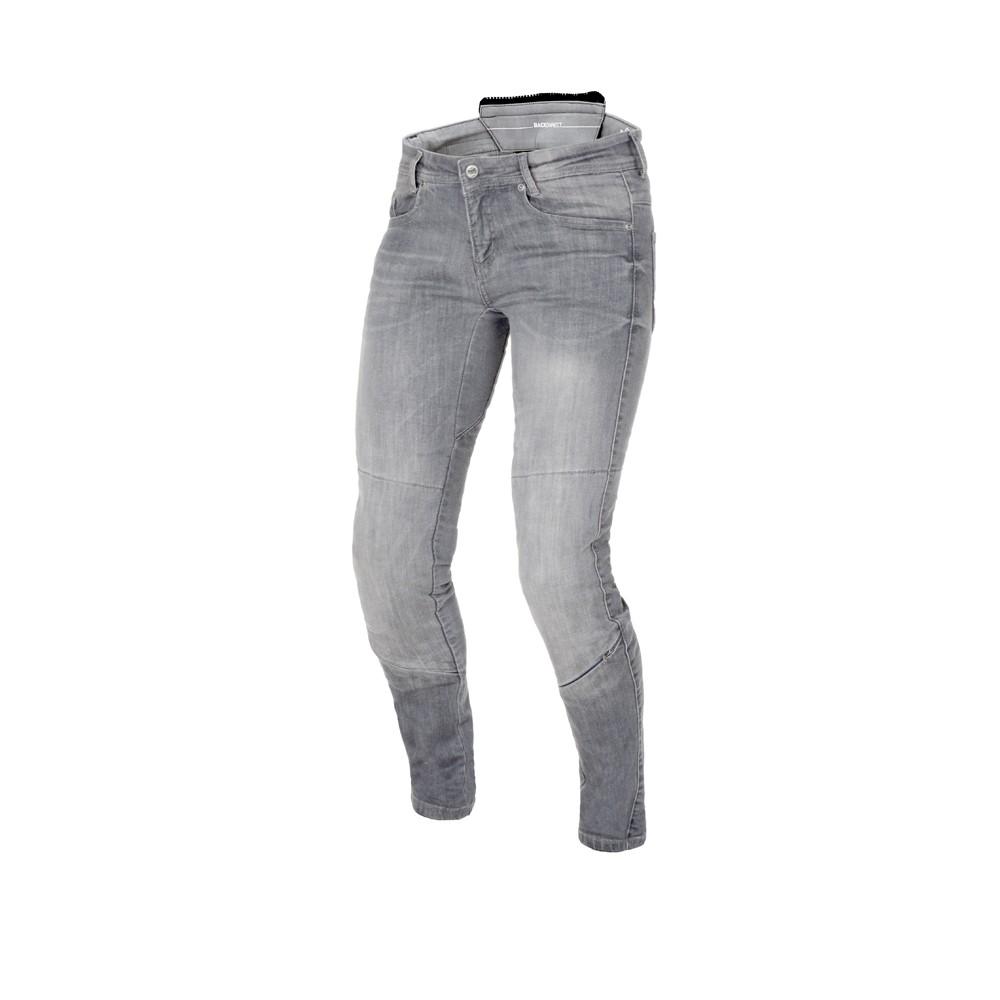 Tekstilinės vasarinės kelnės MACNA Jenny (Ladies) (Grey)