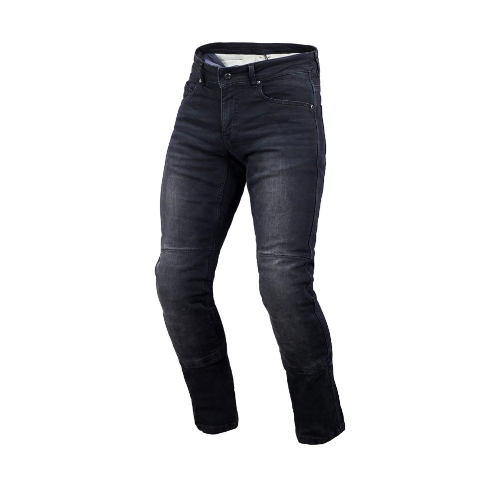 Tekstilinės vasarinės kelnės MACNA Norman (Black)