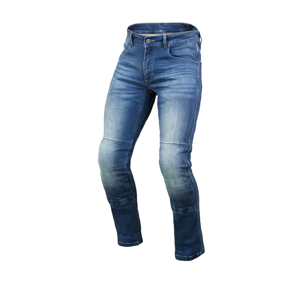 Tekstilinės vasarinės kelnės MACNA Norman (Blue)