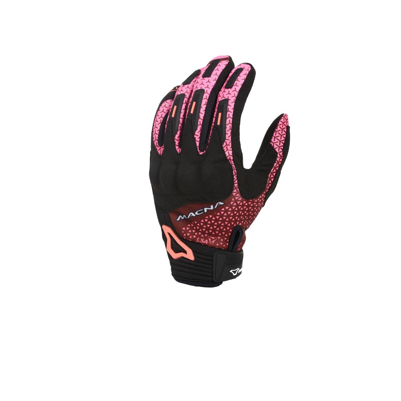 Pirštinės MACNA Octar (Ladies) (Black/Burgundy/Pink)