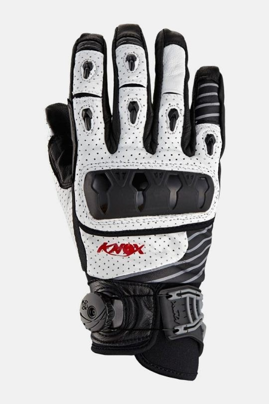 Pirštinės Knox Orsa Leather Mk1, white, M