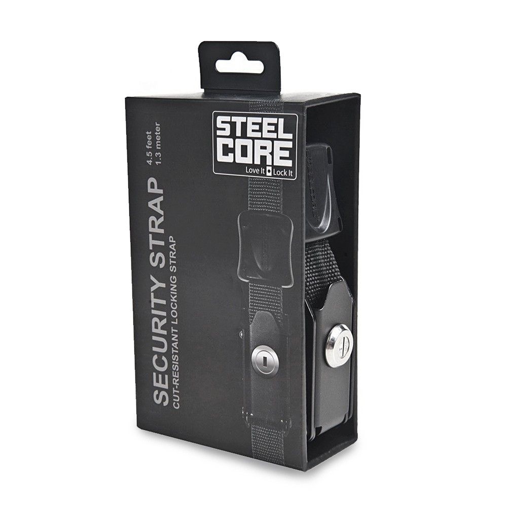 Kriega STEELCORE Security Strap - Black