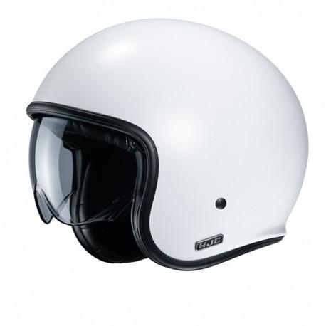 Šalmas HJC V30 UNI (Semi Flat Pearl White)