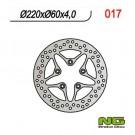 Brake disk NG-017
