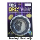 DRCF Carbon Fiber Clutch Kit EBC-DRCF131