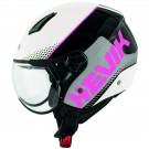 Demi-jet helmet HEVIK NAUTILUS Pink / White
