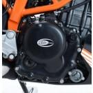 R&G Engine Case Cover Kit (2pc) For KTM 390 DUKE 2013-